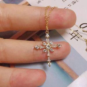 Thalia Cross Necklace